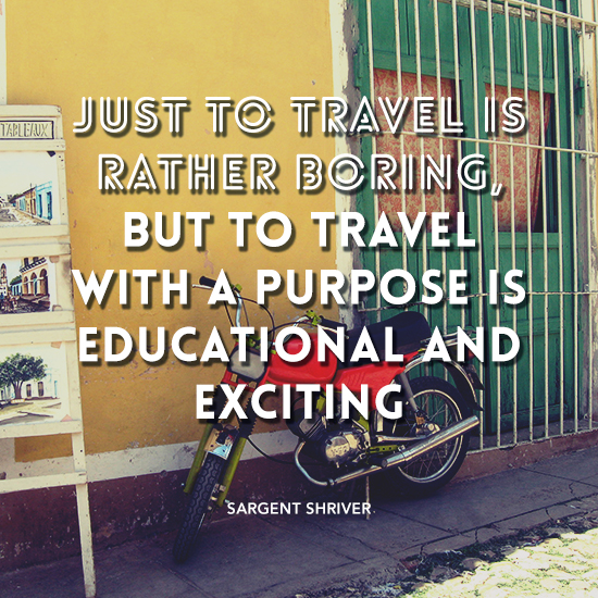 travel with a purpose andrea