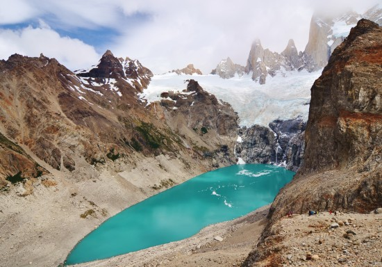 Laguna Sucio in Fitz Roy Massif