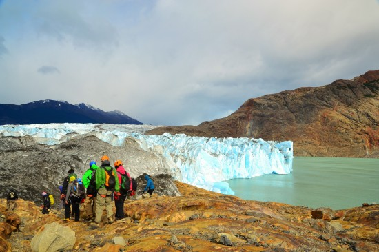 Hiking Viedma Glacier